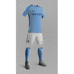 Maillot Manchester City 2017 2018 Domicile