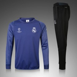 Survetement Real Madrid Ligue des Champions 2016-2017 Bleu