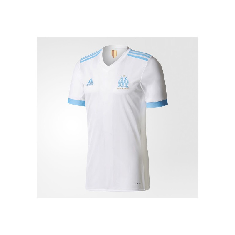 maillot olympique de marseille 2017 2018 pas cher domicile maillot de foot pas cher. Black Bedroom Furniture Sets. Home Design Ideas