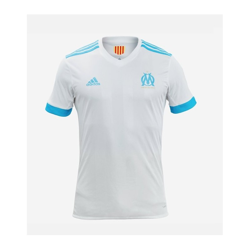 maillot olympique de marseille 2017 2018 pas cher domicile. Black Bedroom Furniture Sets. Home Design Ideas