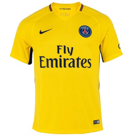 Maillot paris saint germain psg 2017 2018 pas cher ext rieur for Maillot exterieur psg 2016