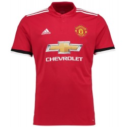 Maillot Manchester United 2017-2018 Pas Cher Domicile
