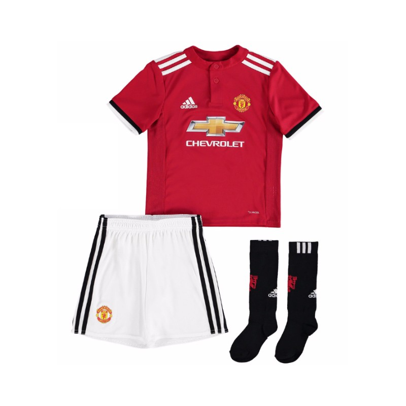 maillot manchester united enfant 2017 2018 domicile. Black Bedroom Furniture Sets. Home Design Ideas