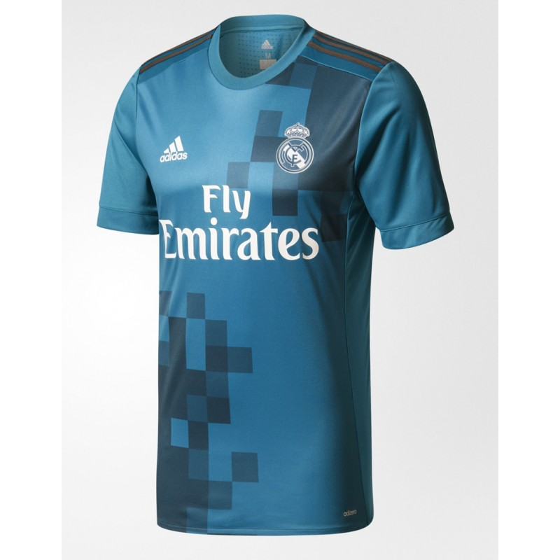 Maillot Real Madrid Pas Cher 2017 2018 Third Maillot de Foot Pas Cher