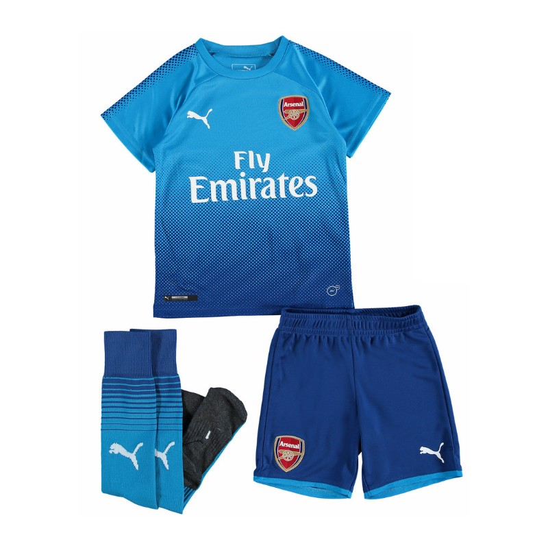 Maillot arsenal enfant 2017 2018 ext rieur maillot de for Maillot arsenal exterieur 2017