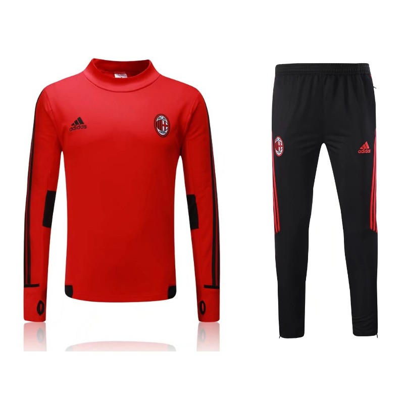 survetement ac milan 2017 2018 rouge maillot de foot pas cher. Black Bedroom Furniture Sets. Home Design Ideas