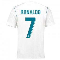 Maillot Ronaldo Real Madrid Pas Cher 2017-2018 Domicile