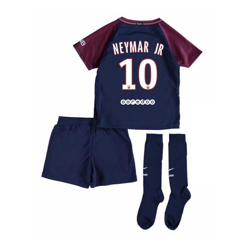 maillot neymar jr psg enfant 2017 2018 domicile maillot de foot pas cher. Black Bedroom Furniture Sets. Home Design Ideas