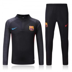 Survetement Barcelone 2017-2018 Noire Grey