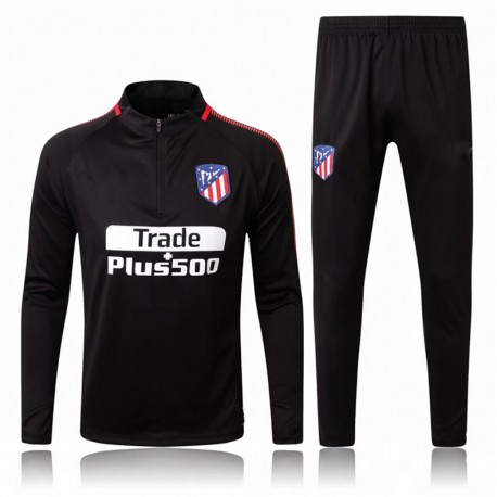 Survetement Atletico Madrid 2017-2018 Noire