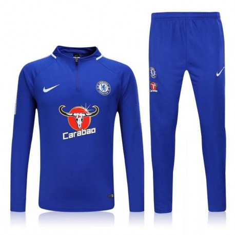 Survetement Chelsea 2017-2018 Bleu