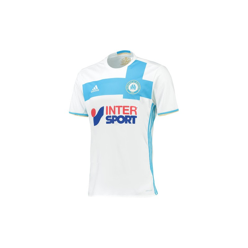 maillot olympique de marseille 2016 2017 pas cher domicile maillot de foot pas cher. Black Bedroom Furniture Sets. Home Design Ideas