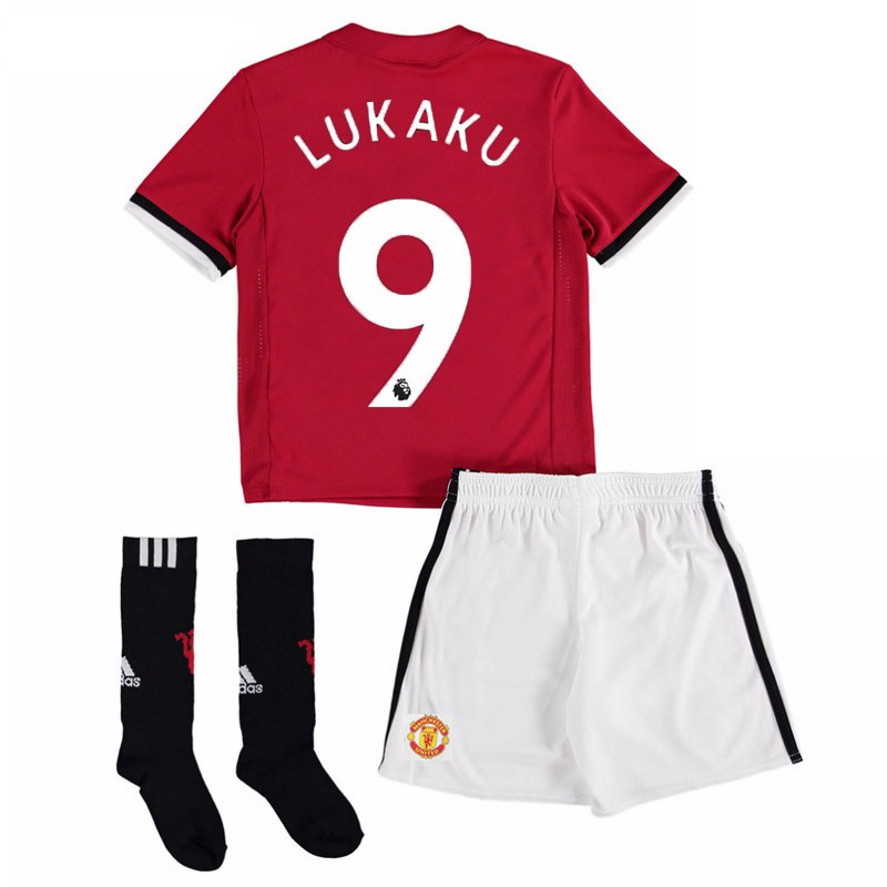 maillot lukaku manchester united enfant 2017 2018 domicile. Black Bedroom Furniture Sets. Home Design Ideas