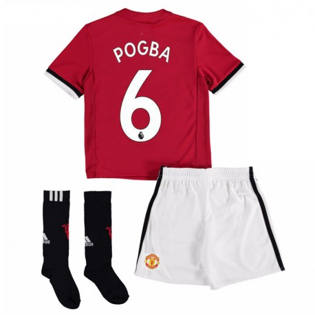 maillot pogba manchester united enfant 2017 2018 domicile. Black Bedroom Furniture Sets. Home Design Ideas
