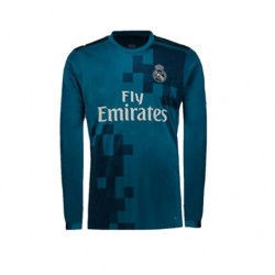 Maillot Real Madrid 2017-2018 Third Manches Longues