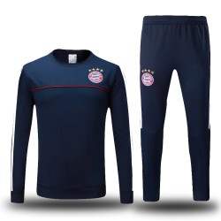 Survetement Bayern Munich 2017-2018 Bleu