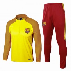 Survetement Barcelone 2017-2018 Jaune