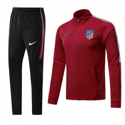 Veste Atletico Madrid 2017 2018 Rouge Round Neck
