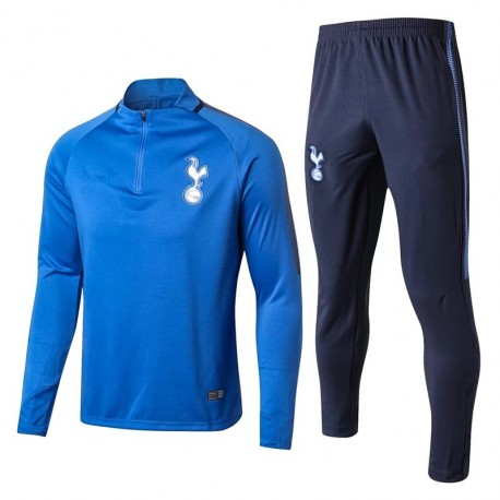 Survetement Tottenham Hotspurs 2017-2018 Bleu