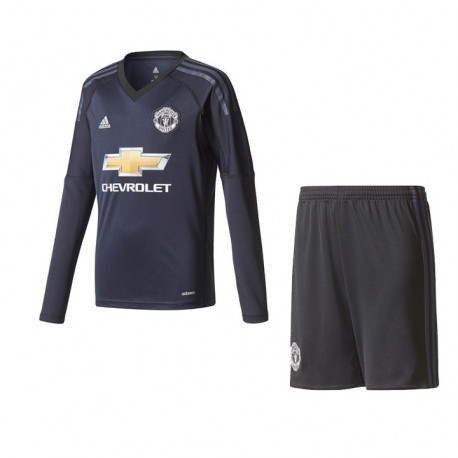 Maillot Manchester United Enfant 2017-2018 Away Manches Longues