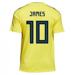 Maillot James Colombie Coupe du Monde 2018 Domicile