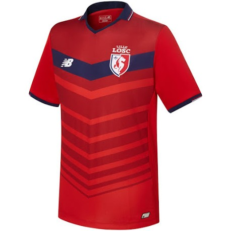 maillot lille losc 2016 2017 pas cher ext rieur maillot de foot pas cher. Black Bedroom Furniture Sets. Home Design Ideas