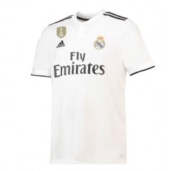 Maillot Real Madrid Pas Cher 2018-2019 Domicile