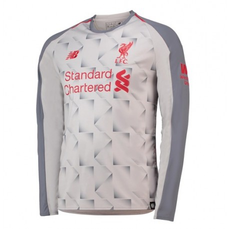 Maillot Liverpool  2018-2019 Third Manches Longues