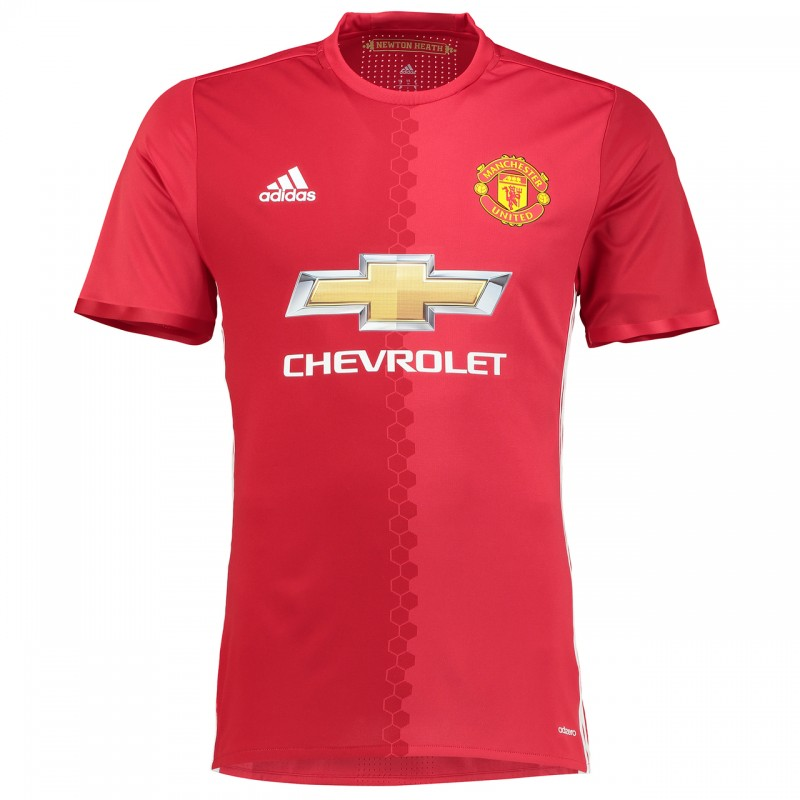 maillot manchester united 2016 2017 pas cher domicile. Black Bedroom Furniture Sets. Home Design Ideas