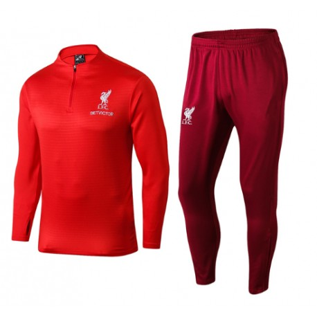 Survetement Liverpool 2018-2019 Rouge