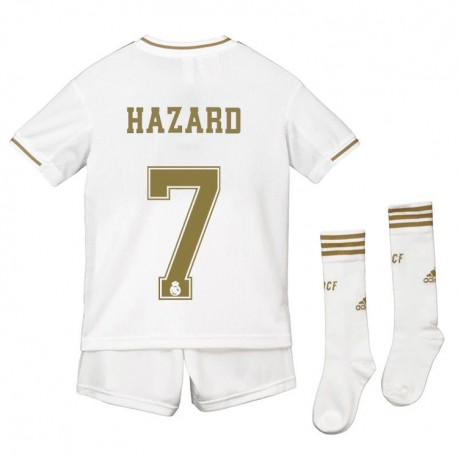 Maillot Hazard Real Madrid Enfant  2019-2020 Domicile