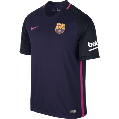 Maillot barcelone 2016 2017 ext rieur maillot de foot for Maillot exterieur om 2017