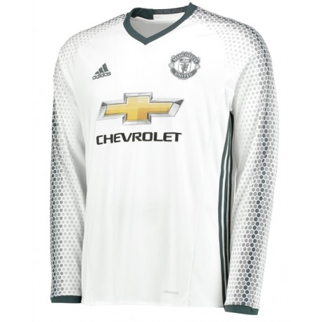 Maillot Manchester United 2016-2017 Third Manches Longues