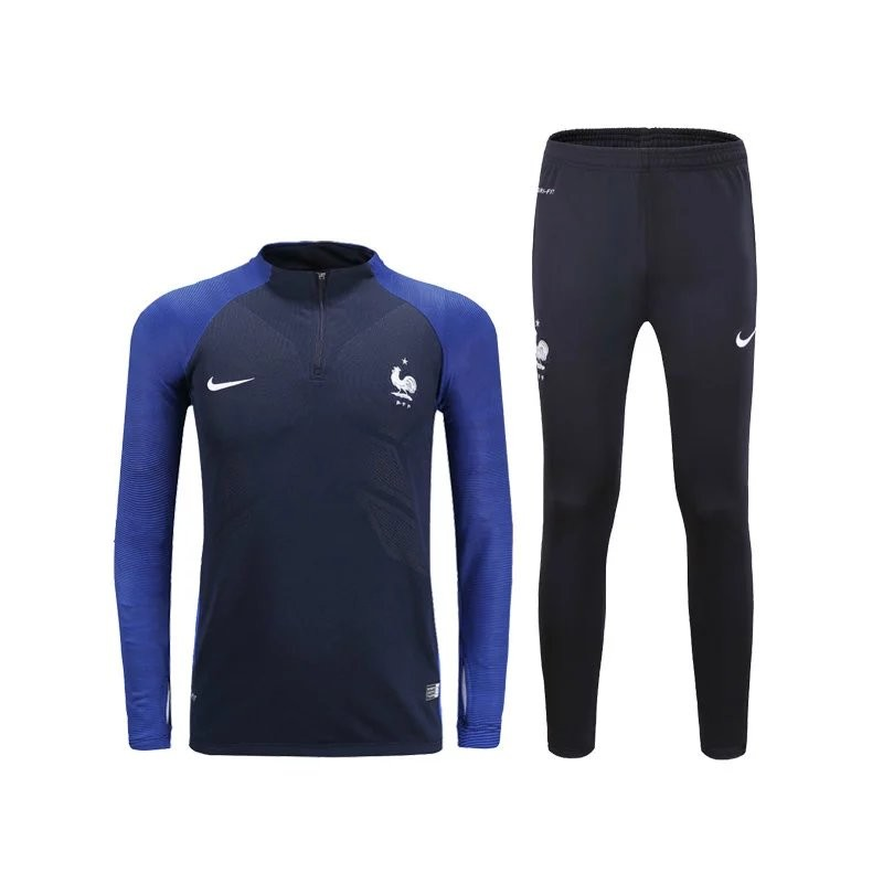 survetement equipe de france 2016 2017 noire bleu maillot de foot pas cher. Black Bedroom Furniture Sets. Home Design Ideas