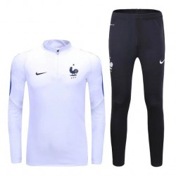Survetement Equipe de France 2016-2017 Blanc