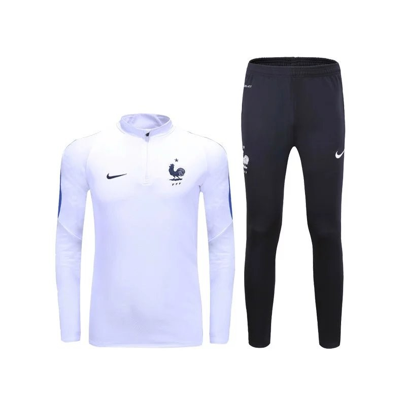 survetement equipe de france 2016 2017 blanc maillot de foot pas cher. Black Bedroom Furniture Sets. Home Design Ideas
