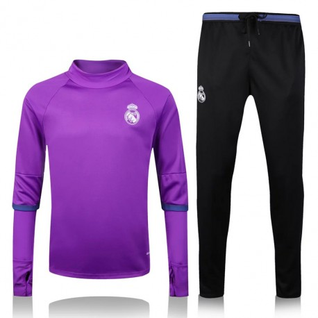 Survetement Real Madrid 2016-2017 Violet