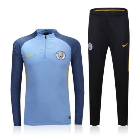 Survetement Manchester City 2016-2017 Bleu